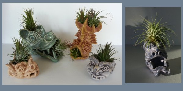 gargoyle air plant holders